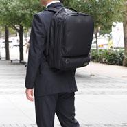 ビジィ・ビーバー マチ幅を調整できる ビジネス対応バックパック Lサイズ