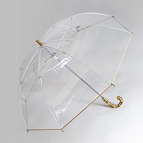 ホワイトローズ社透明傘 シンカテールクラシック