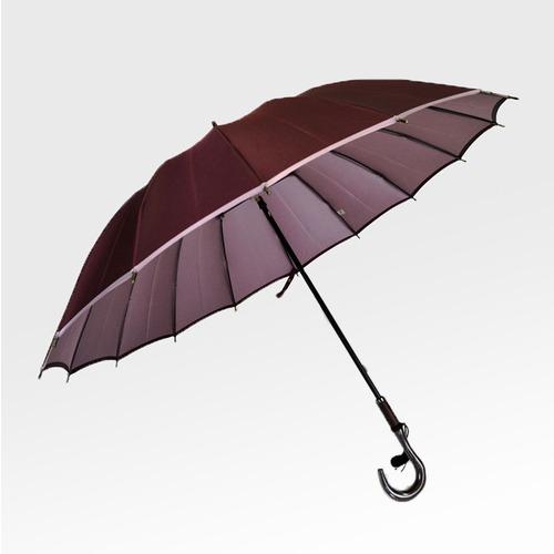 小宮商店 婦人用 甲州織両面無地傘 かさね 長傘 16本骨 55cm