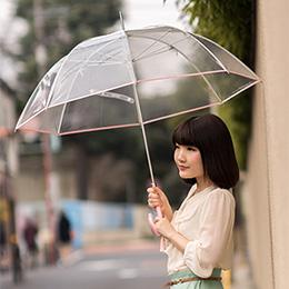 気品ある逸品、園遊会仕様のビニール傘 縁結(えんゆう)