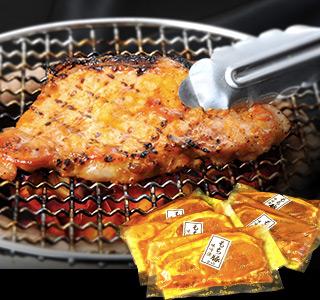 築地場外で60年の肉の目利きが選ぶもち豚ロースの特製味噌漬け
