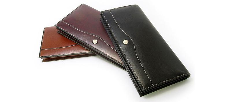 6d655ab7b5ee 「オックスフォード長財布(小銭入れなし) 」は、ゴールドファイルの品と風格にスタイリッシュな感覚をプラスしたシャープでスポーティーな長財布。  札入れにマチが ...