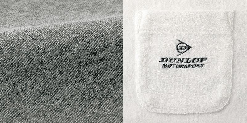 フレンドリー ダンロップ・モータースポーツ 5分袖パイルTシャツ 3色組