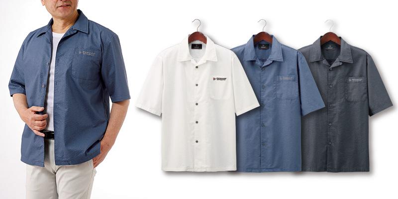 フレンドリー ダンロップ・モータースポーツ 涼やかオープンシャツ3色組