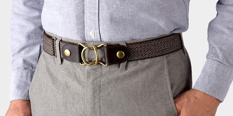 伸縮性に優れた着脱容易なゴムベルト