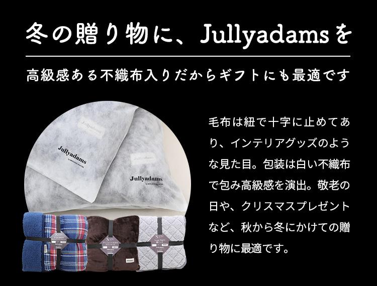 メルクロス ジュリーアダムス クッションにもなるフランネル敷きパッドは高級感ある不織布入りだからギフトにも最適です