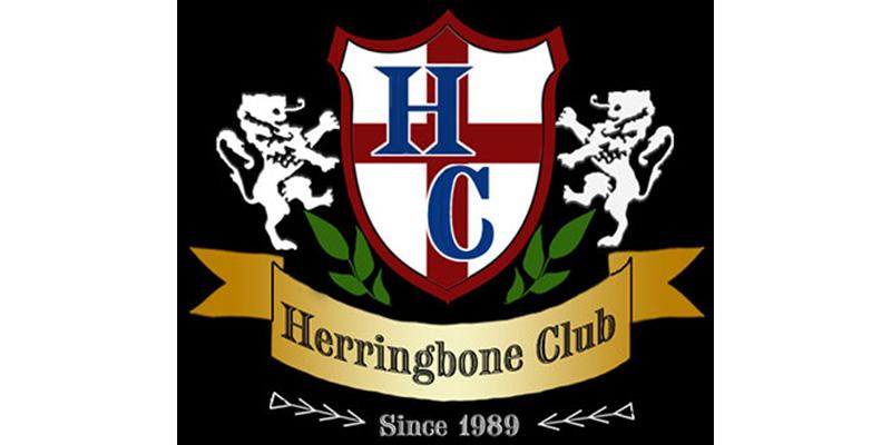 グレンフィールド ヘリンボーンクラブ ハリスツイードチェスターコート