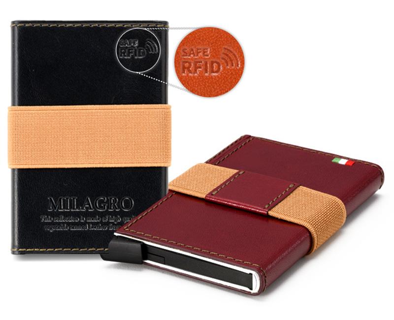 ビスポーク ミラグロ スライド式カードウォレット