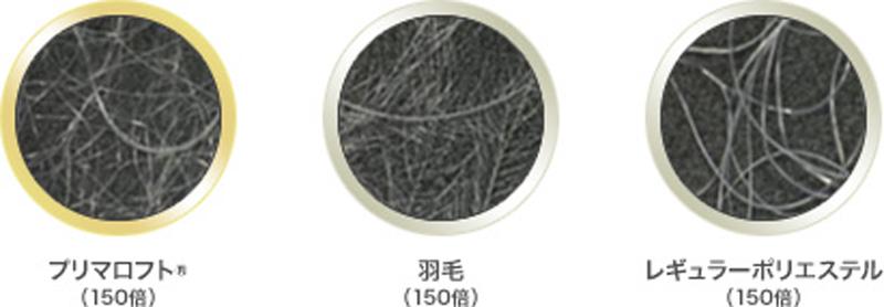 羽毛の繊維構造を研究して生まれた人工羽毛