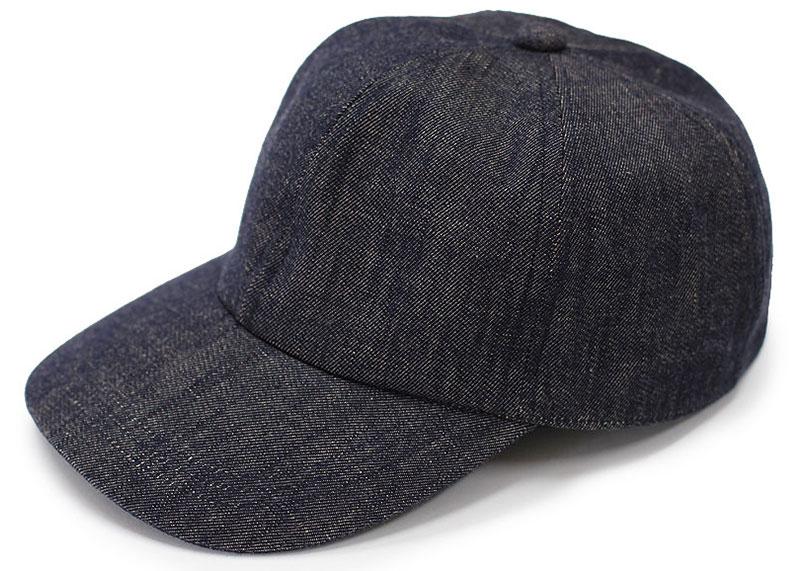 ビスポーク 井上帽子 越後片貝木綿 デニムキャップ