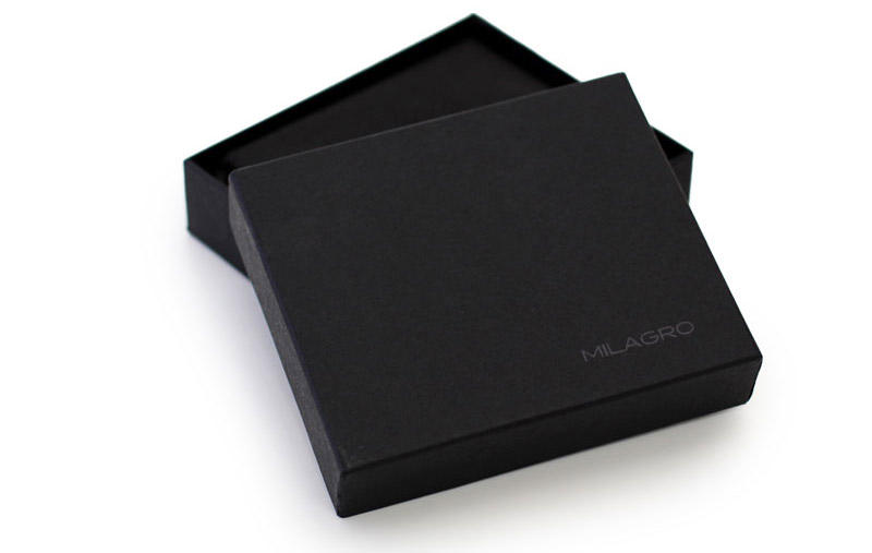 ビスポーク ミラグロ オイルプルアップレザー 3つ折り財布
