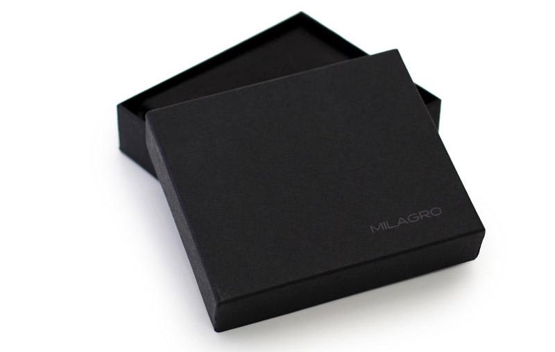 ビスポーク ミラグロ オイルプルアップレザー ボックスコインケース