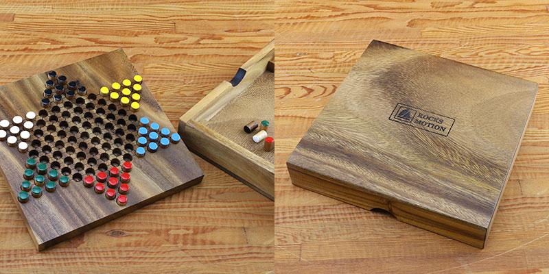 ロックスモーション 木製ゲーム ダイヤモンドゲーム AM-007