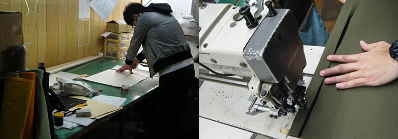 カーム マインド 6号帆布の折り畳みA3トート