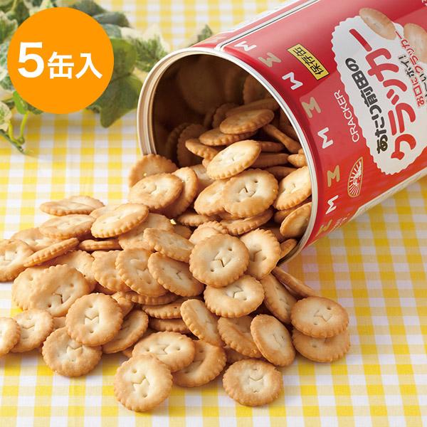 あたり前田のクラッカー保存缶