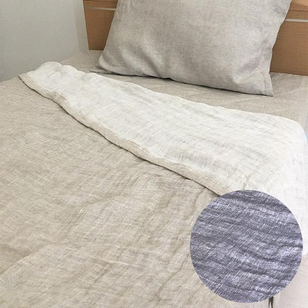 日本製 洗えるリネンヘンプ ダブルガーゼケット