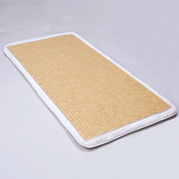 昔懐かしい「竹シーツ」が天然の涼しさを提供 天然孟宗竹シーツ