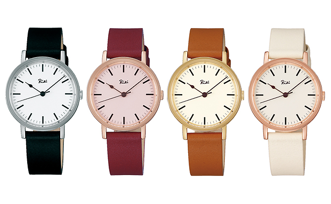 cc867270cb 日本を代表するデザイナー渡辺力(わたなべりき)さんのデザインスピリットを受け継いだクオーツ腕時計。力さんデザインのシンプルモダンクロック(2009年の作品)を  ...