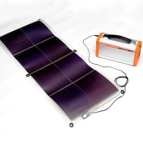 オーエス ポータブル蓄電池用 オプションソーラーシート GSS-1016N-B