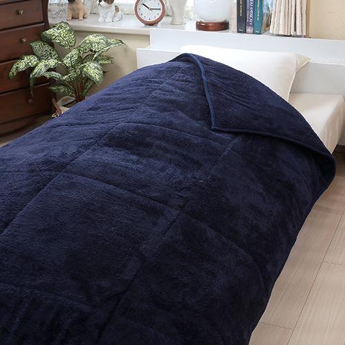 ガマカ工業 保温わた入り二層式毛布