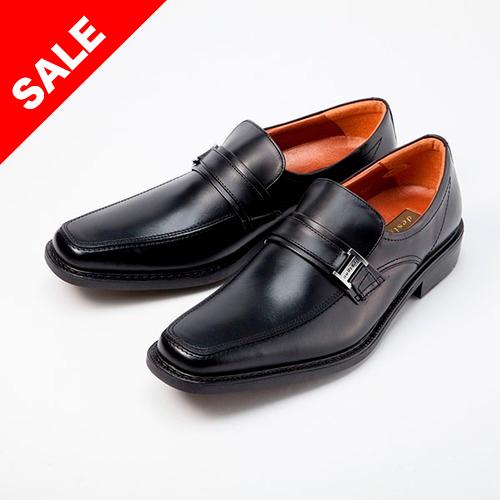 金谷製靴 KANEKA 日本製 牛革ビジネスシューズ ベルト 4E