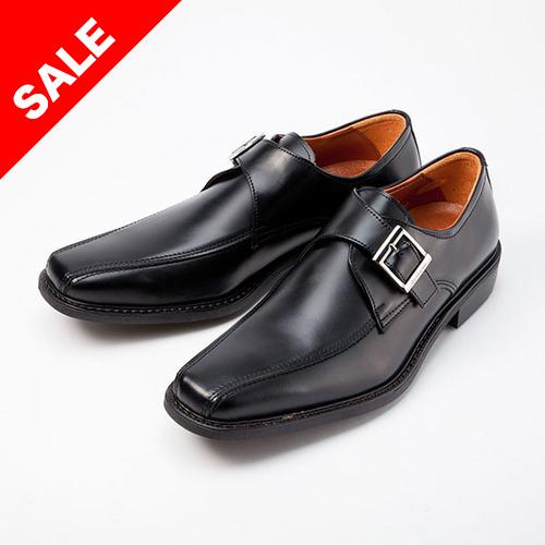 金谷製靴 KANEKA 日本製 牛革ビジネスシューズ スワールベルト 4E