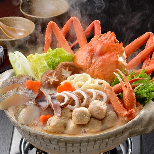 小樽海洋水産 紅ズワイまるごと海鮮鍋 1箱:1.2kg(3~4人前)