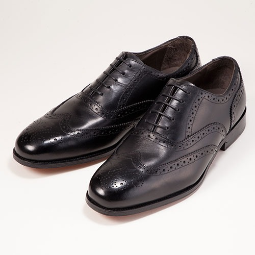 金谷製靴 カネカ 本革ボロネーゼ&マッケイ製法ビジネスシューズ メダリオン 733