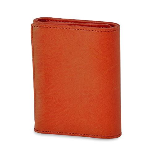 イタリアンレザー 三つ折りコンパクト財布
