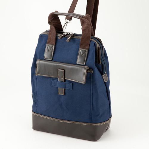 鞄の國 豊岡製 帆布3WAYダレスバッグ