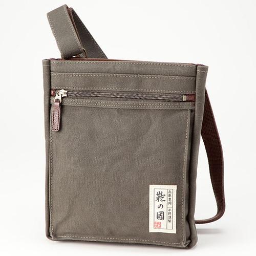 鞄の國 6号帆布ショルダーバッグ