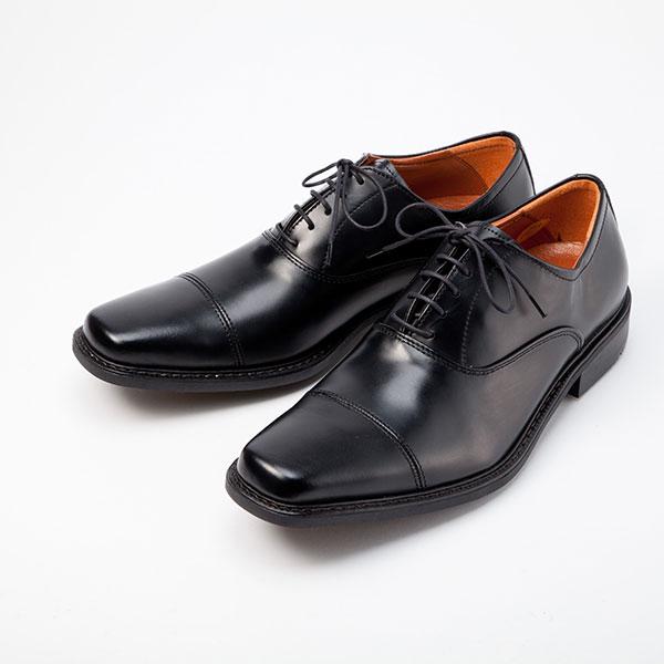 金谷製靴 KANEKA 日本製 牛革ビジネスシューズ ストレート 4E