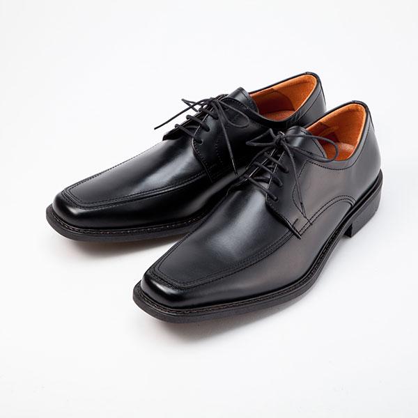 金谷製靴 KANEKA 日本製 牛革ビジネスシューズ Uチップ 4E