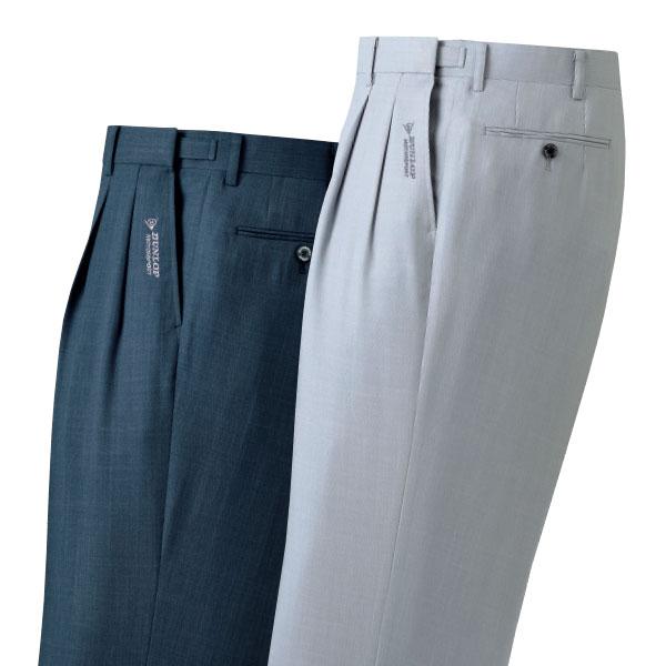 フレンドリー ダンロップモータースポーツ 裾上済アジャスター付杢調スラックス 2色組 957045