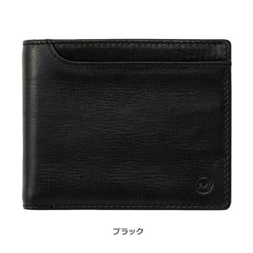 オイルプルアップレザー ベラ付き2つ折り財布