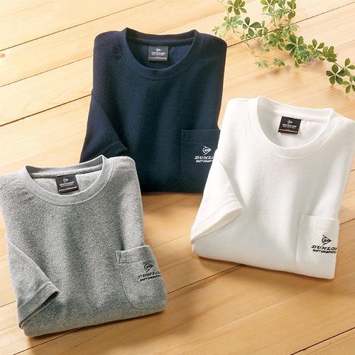 5分袖パイルTシャツ 3色組