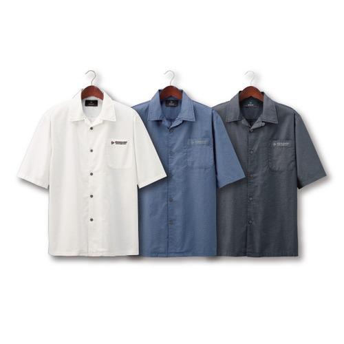 涼やかオープンシャツ3色組