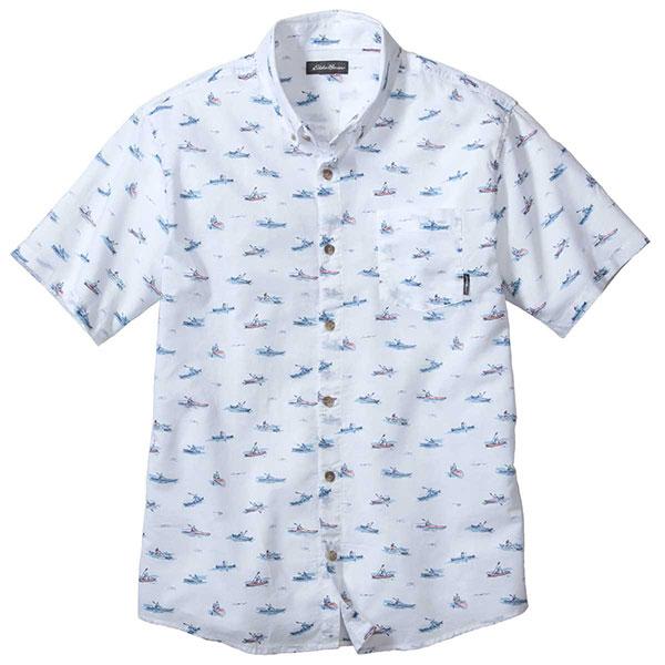 エディー・バウアー 半袖キングストンボタンダウンシャツ 400240