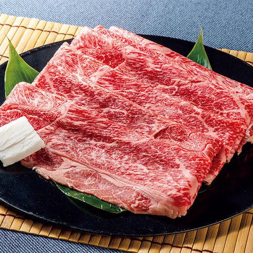 米沢食肉公社 米沢牛すきやき用スライス(600g:300g×2パック)