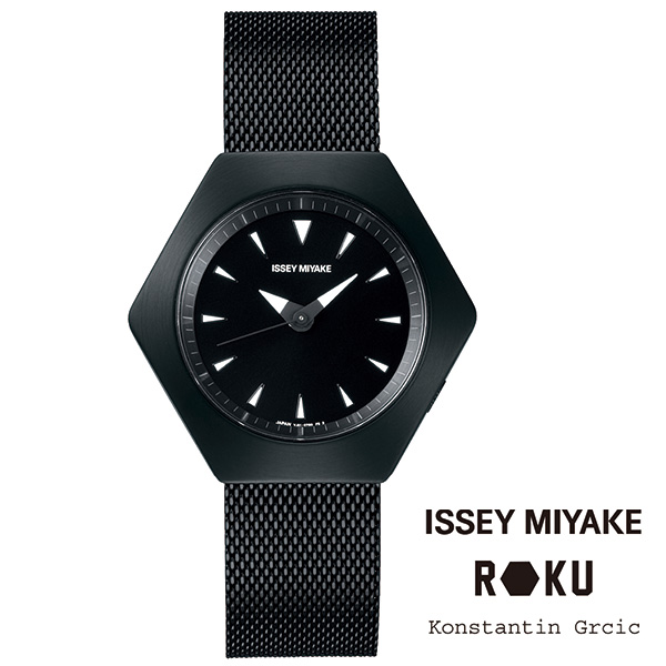 ROKU(ロク)ステンレスバンド ブラック