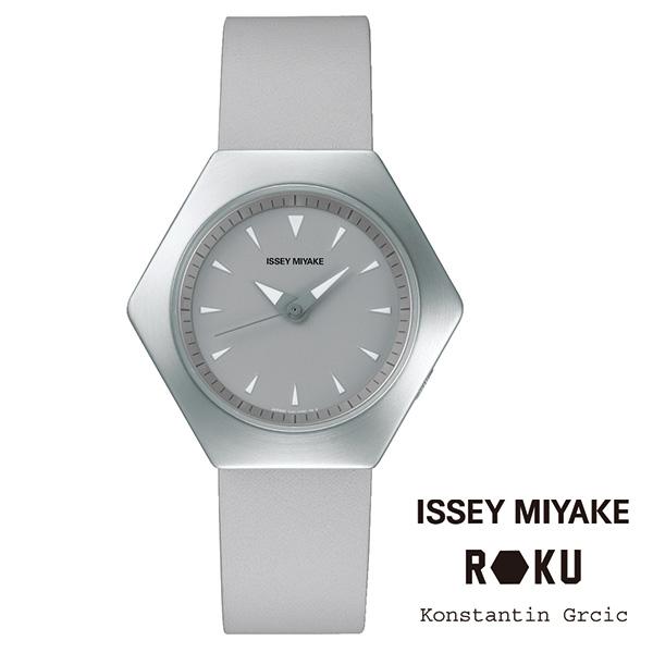 ROKU(ロク)レザーバンド シルバー