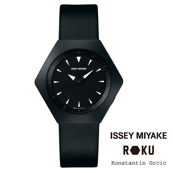 ROKU(ロク)レザーバンド ブラック