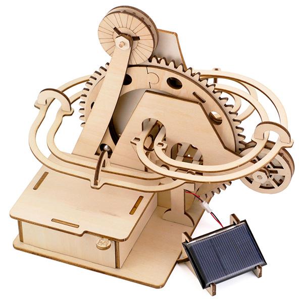 そろはむ 遊べる木製パズル マーブルマシン やまみち M-0101
