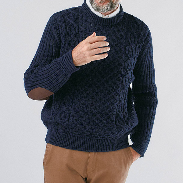 ジェイエムクーパー 英国製フィッシャーマンズセーター