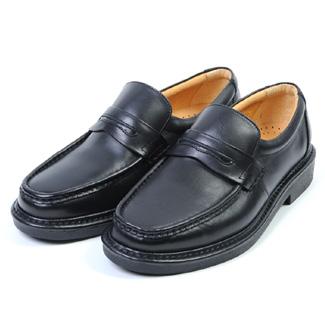 金谷製靴 カネカ 日本製 ソフト牛革 ビジネスウォーキングシューズ ローファー 4E KN3101