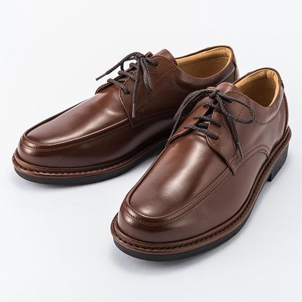 金谷製靴 カネカ 日本製 ソフト牛革 ビジネスウォーキングシューズ Uチップ 4E KN3013