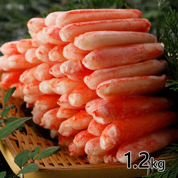 ロイヤルグリーンランドジャパン 本ズワイガニ脚むき身 Lサイズ ボイル 冷凍1.2kg