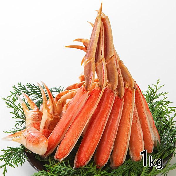 ロイヤルグリーンランドジャパン 生ズワイガニ 半むき身 L~2Lサイズ 冷凍1.0kg