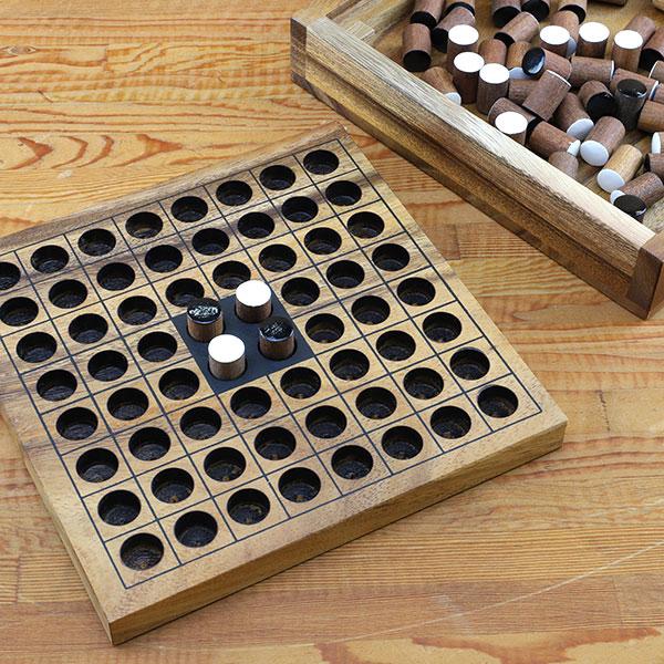 ロックスモーション 木製ゲーム リバーシ AM-006
