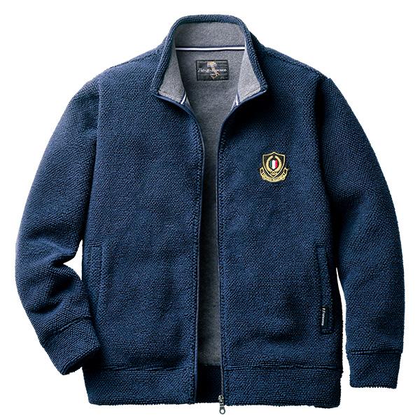 フレンドリー パトリチオ フランチェスカ ふんわり柔らか暖かフリースジャケット